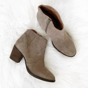 NEW Seychelles Suede Leather Ankle Bootie